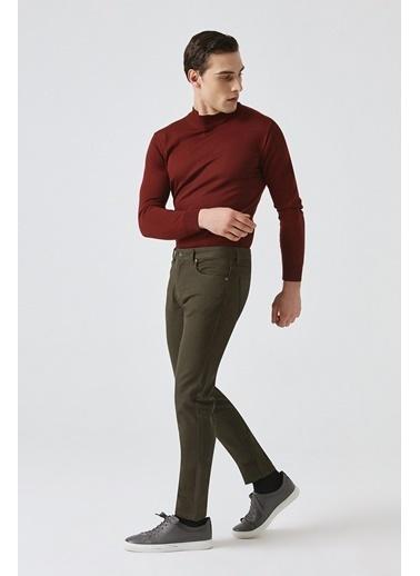 Tween Super Slim Fit Chino Pantolon Haki